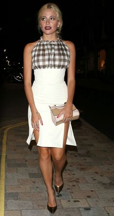 Pixie Lott in Christopher Kane at the Chiltern Firehouse  #provestra