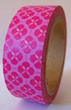 """Washi Tape """"Babylon"""" in Pink  10 Meters"""
