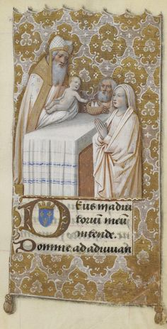 "Manuscript illuminator Jean Bourdichon and his atelier, ca. 1475-1500, ""Heures de Charles VIII"", France."