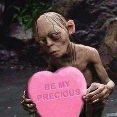 pink heart, Gollum, be my precious,