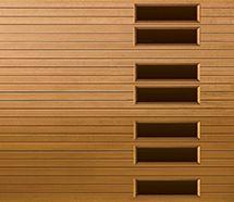 Wayne Dalton Fiberglass Garage Doors - Model 9800