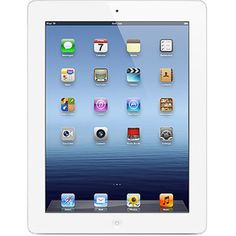 Apple iPad 3rd Generation 32GB with Wi-Fi (White) $499