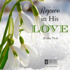 """.<3<3        Psalm 70:4  (NKJV) 4 Let all those who seek You rejoice and be glad in You; And let those who love Your salvation say continually, """"Let God be magnified!"""""""