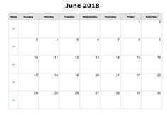 Color Pattern January 2018 Printable Calendar