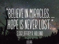 """From Elder Jeffrey R. Holland's talk """"Like a Broken Vessel"""""""
