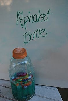Preschool Projects: How to make Science/ Discovery Bottles