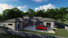 5 Bedroom House Plan - My Building Plans South Africa