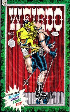 Weirdo underground comix, art by Robert Crumb Zap Comics, Fritz The Cat, Jordi Bernet, Alternative Comics, Robert Crumb, Comic Artist, Erotic Art, Cover Art, Pop Art