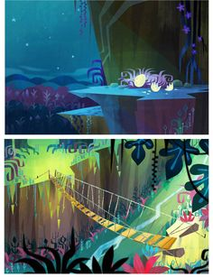 Arts short Earl Scouts (Cloudy 2) by Joey Chou | THECAB - The Concept Art Blog
