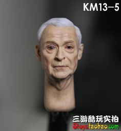 "63.00$  Buy now - http://alit8h.worldwells.pw/go.php?t=32451988522 - ""1/6 figure doll head.Batman Alfred Michael Caine Head shape.doll accessories for DIY12"""" action figure doll headsculpt"" 63.00$"