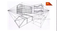 Perspective Drawing: Intermediate 29 inter two point objects 04