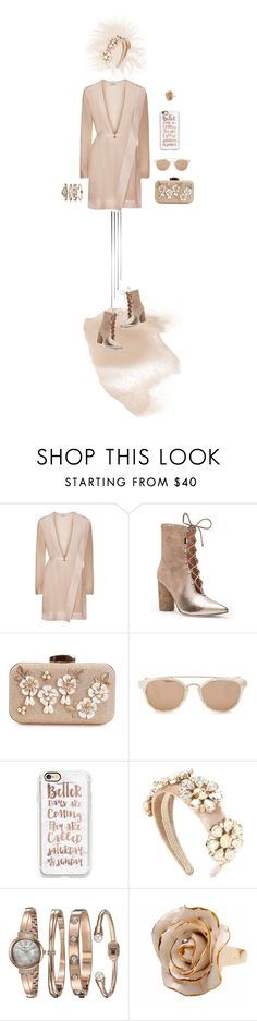 """""""Better Days are Coming"""" by christine-sacco ❤ liked on Polyvore featuring Sigerson Morrison, Taylor Morris, Casetify, Dolce&Gabbana, Anne Klein and Hop Skip & Flutter"""