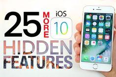 25 More iOS 10 Hidden Features!