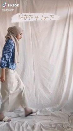 Muslim Fashion, Modest Fashion, Hijab Fashion, Diy Fashion, Fashion Outfits, Womens Fashion, Casual Hijab Outfit, Ootd Hijab, Casual Outfits