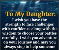 To My Daughter To My Daughter Good Morning Daughter Poem To My Daughter