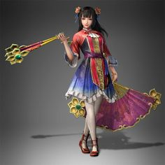 Da qiao's new design from dynasty warriors 9