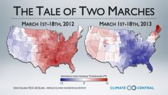 The Tale of Two Marches: informative look at how changes in the jet stream are causing extreme weather