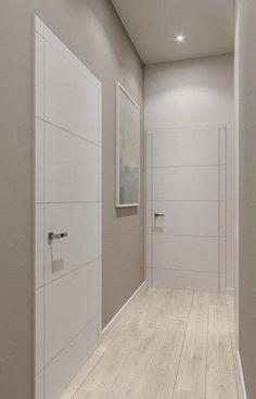 Interior Home Design Trends For 2020 - New ideas House Paint Interior, Door Design Interior, Apartment Interior, Modern Interior Doors, Interior Ideas, House Ceiling Design, House Design, Flur Design, Indoor Doors