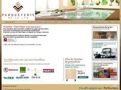 Parqueterie de la Lys, entreprise du Nord-Pas-de-Calais spécialisée dans la vente de parquet pas cher.