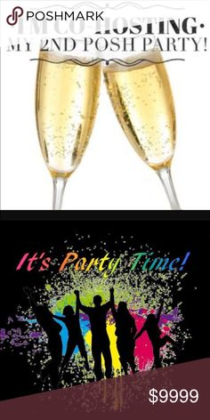 🎉4/12/17🎉 Please join me as I co-host my 2nd Posh party on April 12th at 10pm EST. Theme to be announced. Other