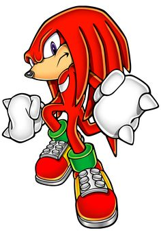 knuckles the echidna | Gallery » Official Art » Knuckles the Echidna » Sonic Advance 3