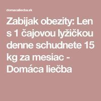 Zabijak obezity: Len s 1 čajovou lyžičkou denne schudnete 15 kg za mesiac - Domáca liečba Nordic Interior, Alternative Medicine, Detox, Health Fitness, Body Fitness, Food And Drink, Lose Weight, Masky, Medicine