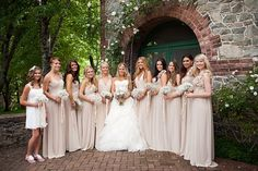 Romantic DIY Fairytale Wedding: Blush Pink, Ruffles & Lace | Bridal Musings