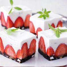 Strawberry treats are my favorite!