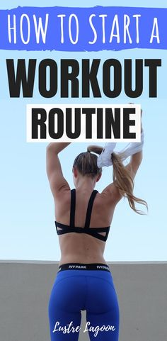 Are you ready to start a new workout routine? Here are 5 ESSENTIAL steps to building a fitness plan that you can *actually* stick to. These tips are great for beginners and anyone who has taken some time off from their regular workout schedule! Fitness Transformation, Physical Fitness, Yoga Fitness, Fitness Exercises, Kids Fitness, Health Fitness, Training Exercises, Muscle Fitness, Arm Exercises