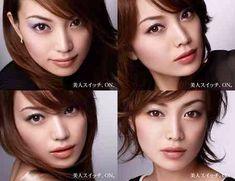 Beauty Make Up, Yuri, Japan, Makeup, Face, Model, Sexy Women, Animation, Studio
