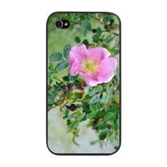 Wild Pink Rose iPhone Snap Case