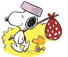 Snoopy and Woodstock...