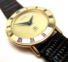 Catawiki online auction house: Gucci Flat Classic Mint Condition – Women's Watch