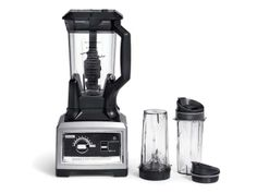 The Ninja Ultima™ blender with a 2.5 Peak Horsepower Motor/24,000 RPM, it is the only blender with Dual Stage Blending Total Crushing™ & High Speed Cyclonic Blades. Gives you a wide range of speeds to create anything from sauces to whole juices with PRO variable speeds! To find out more, visit: http://www.ninjakitchen.com/ninja-ultima-blender/