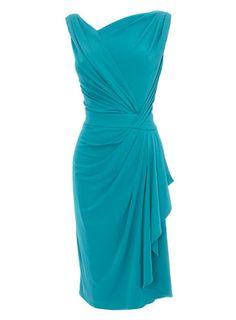 Jade Green Grecian Dress - dresses & skirts - new in  - Women