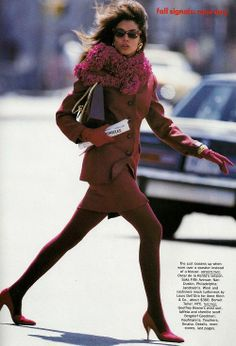 'New Day' from…………Vogue July 1989 feat Kara Young  Audrey Benoit