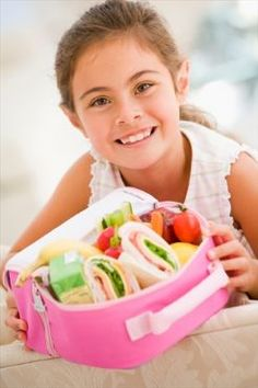 Kids' school lunch recipes, think outside the box