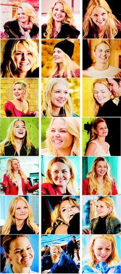 emma swan + happiness