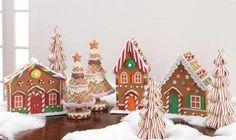 a little gingerbread village :)