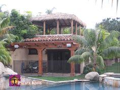 Palapa Kings™ Custom Mexican Raincape Palapa Photo Gallery