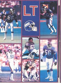 757278387 Lawrence Taylor New York Giants Giant Poster 42