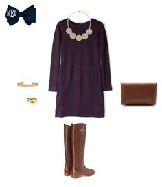 """Tag in D!"" by liprep ❤ liked on Polyvore featuring Marc by Marc Jacobs, Tory Burch, J.Crew, Cartier, The Limited and ABCnames"