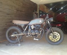 Cb 400 cafe racer made by 57garage