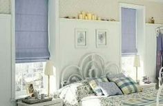 Cool Curtains, Roman Blinds, Window Coverings, Romans, Decorating Your Home, Toddler Bed, New Homes, Interior Design, Luxury