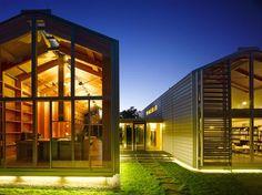 The Cool Hunter - Nobis House - Minimalist Boathouse Residence Near Munich, Germany