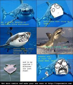 Shark Week Rage