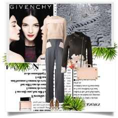 A fashion look from December 2014 featuring Givenchy sweaters, Givenchy jackets and Givenchy pants. Browse and shop related looks.
