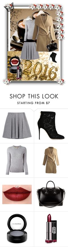 """""""Untitled #2"""" by ermina-basic ❤ liked on Polyvore featuring Fall Winter Spring Summer, Dolce&Gabbana, Burberry, Givenchy, MAC Cosmetics, women's clothing, women's fashion, women, female and woman"""