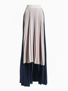 Pleated Half-length Skirt • HANA ZARUBOVA Hana, Pleated Skirt, Spring Summer, Blouse, Long Sleeve, Skirts, Sleeves, Tops, Women