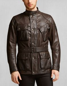 c404922be30b The Panther Jacket - Black Brown Leather Jackets